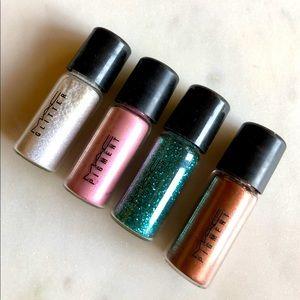 MAC | Gift Set (4) Pigment + Glitter Vials